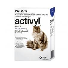 アクティビルスポットオン猫用(4kg以上)6本