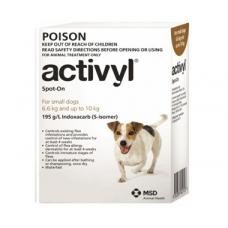 アクティビルスポットオン小型犬(6.6-10kg)6本