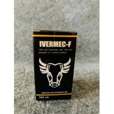 イベルメックF(イベルメクチン1.5%・クロルスロン15%)100ml注射液