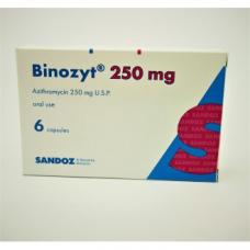 ビノジット(アジスロマイシン250mg)6錠