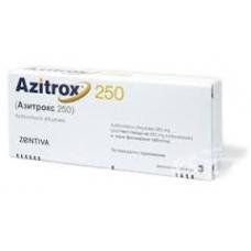 アジトロックス(アジスロマイシン250mg)6錠