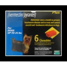 ハートガードプラス小型犬用(0-11kg)6個入り<使用期限:2021/9>