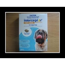 インターセプタースペクトルチュアブル大型犬用(23-45kg)6個入り