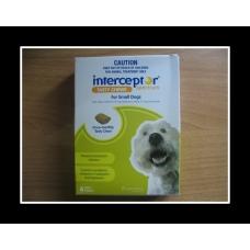 インターセプタースペクトルチュアブル小型犬用(4-11kg)6個入り