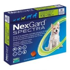 ネクスガードスペクトラ(中型犬7.5-15kg用)6錠