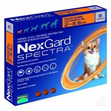 ネクスガードスペクトラ(超小型犬2-3.5kg用)6錠