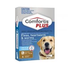 コンフォティス 大型犬用(27-54kg)ブラウン6個入り<使用期限 2020/1>