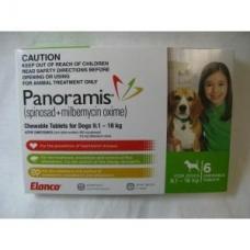 パノラミス中型犬用(9-18kg)グリーン6個入り